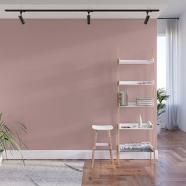 Dunn and Edwards 2019 Curated Colors La Vie en Rose (Pink) DET416 Solid Color Wall Mural
