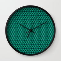 knitting Wall Clocks featuring Knitting by Diogo Coito