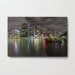 Brisbane by night Metal Print