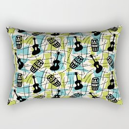 Guitar Mambo Rectangular Pillow