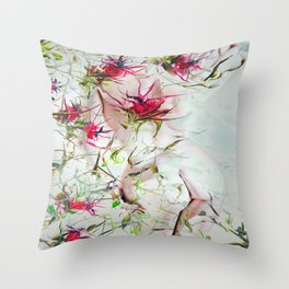 Beautiful nude - DornXchen Throw Pillow