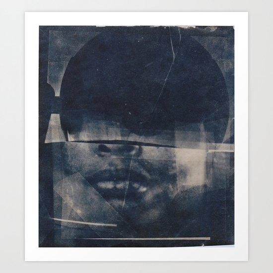 The Inveterate Nature of (material redacted) Art Print