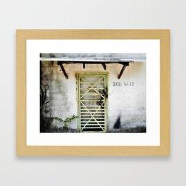 Other World Entrance Framed Art Print