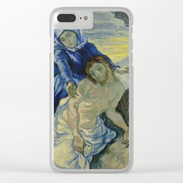 Pietà (after Delacroix) Clear iPhone Case