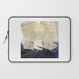 2018, Time to Clean House Laptop Sleeve