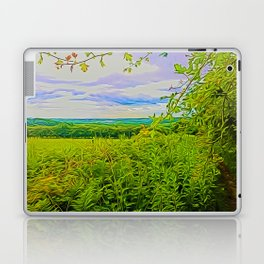 Parbold Hill (Digital Art) Laptop & iPad Skin