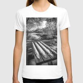 Lake Padarn Bench T-shirt