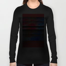 Red Color Blinds Long Sleeve T-shirt