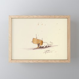 #coffeemonsters 470 Framed Mini Art Print