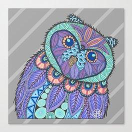Spring Owl Canvas Print