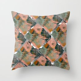 Wild Tribe Throw Pillow