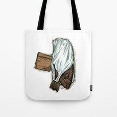Flatfish and mushrooms. Tote Bag