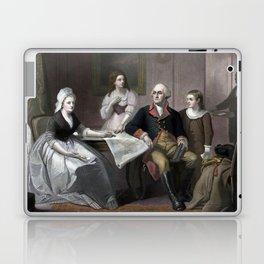 George Washington And His Family Laptop & iPad Skin