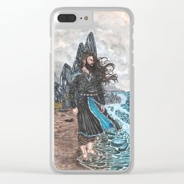 Njord Lord of the tides Clear iPhone Case