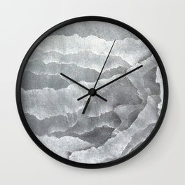 A Cave of Mirrors Wall Clock