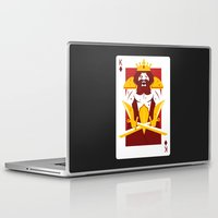 berserk Laptop & iPad Skins featuring King of Diamonds - Berseker King by Thirdway Industries Shop