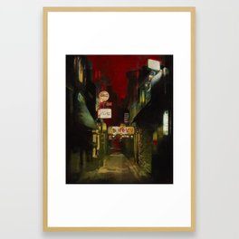 Kamogawa Odori Framed Art Print