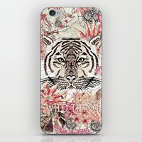 tiger iPhone & iPod Skins featuring TIGER by Monika Strigel