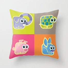 Fortunetos Throw Pillow