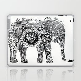 Be Bigger Than Your Fears Indian Elephant Laptop & iPad Skin