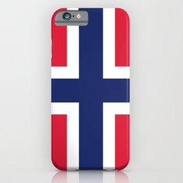 Norway flag emblem iPhone Case