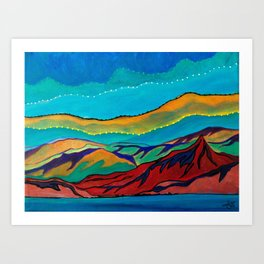 Mini Desert 2 Art Print