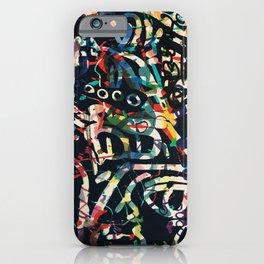 Graffiti Abstract Art Spray Paint iPhone Case