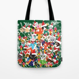 Happy holidays. Tote Bag