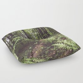 Woodland - Landscape and Nature Photography Floor Pillow