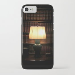 library, please hush iPhone Case