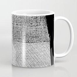 White & Grey Coffee Mug