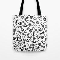 marina Tote Bags featuring Marina by Kayla Nicole