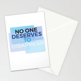 Disappear - Dear Evan Hansen Stationery Cards