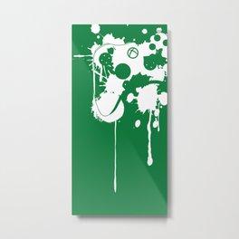 """""""Control"""" - Reversed Metal Print"""