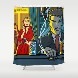Spacing out Shower Curtain
