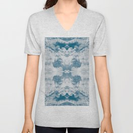 Heavenly Clouds Mandala | X Marks the Spot Unisex V-Neck