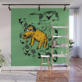 Perrete serie 4 Wall Mural
