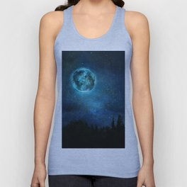 Planetary Soul Haven Night Unisex Tank Top