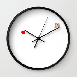 A Life Without A Cavalier King Charles Spaniel Is Like I Have No Idea Super Cute And Funny Dog Gift Wall Clock