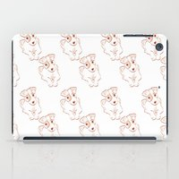 jack russell iPad Cases featuring Jack russell by 1 monde à part