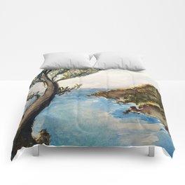 Japanese Landscape Comforters