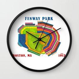 Fenway Park I Wall Clock