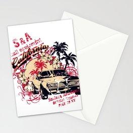 car california Stationery Cards