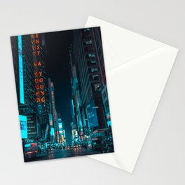 New York Bright Lights Stationery Cards