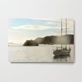 sailing the bay of islands Metal Print