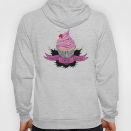 Bands for Boobs Cupcake Logo Hoody