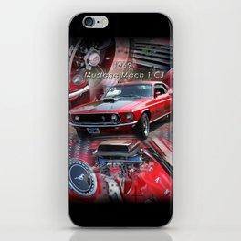 1969 Mustang Mach 1 CJ iPhone Skin