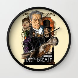 Doctor Who: Deep Breath Wall Clock