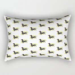 Dachshund (includes rescue donation!) Rectangular Pillow