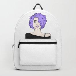 Lavender Girl Backpack